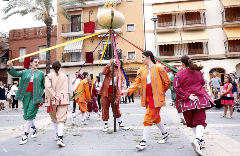 Celebración Corpus Christi en Almàsser. Foto: A. Sáiz