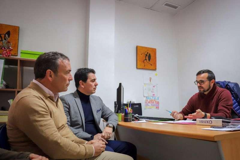 Los diputados autonómicos, Tony Woodward y Toni Subiela.