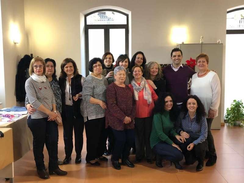 Participantes del taller de Corte y Confección. EPDA