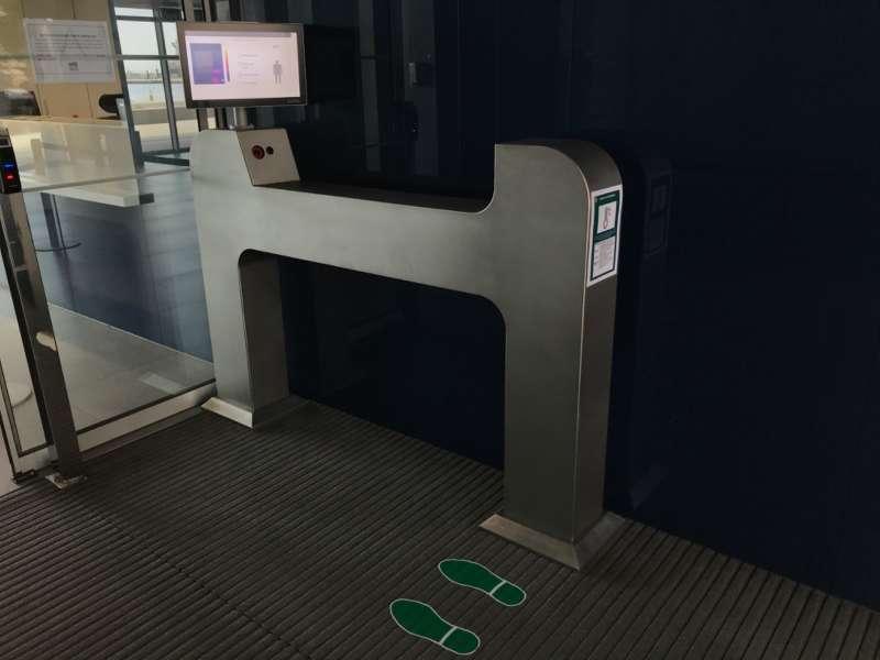 Dispositivo de medición de temperatura. / EPDA