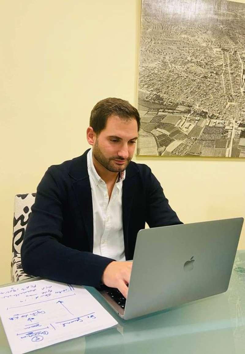 El concejal, Stephane Soriano. / EPDA
