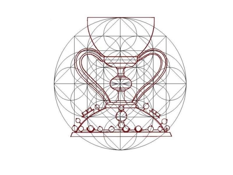 Composición del cáliz, en los documentos aportados por Gabriel Songel.