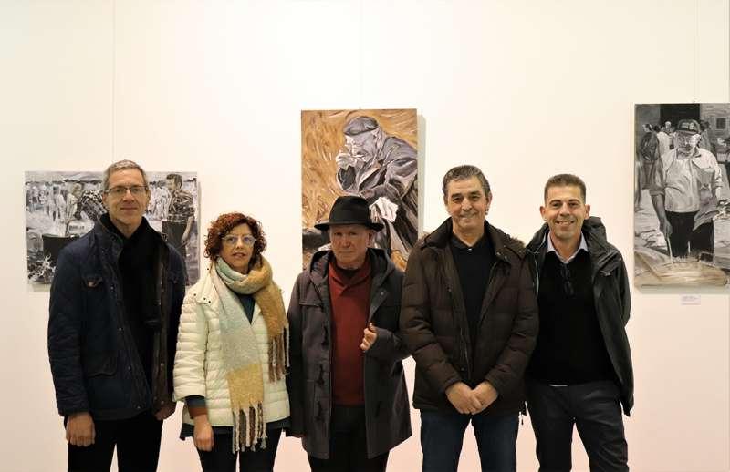 Inauguració de la mostra de Panera. EPDA