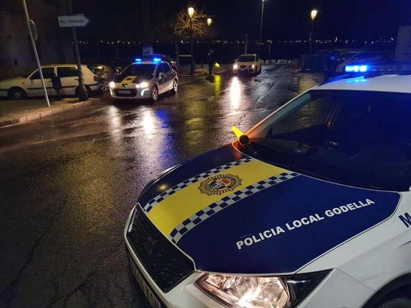 Control de la Policía Local de Godella. EPDA