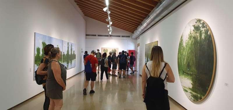 Presentación de exposiciones. EPDA.