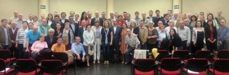 La asamblea contó con una alta participación de militantes del municipio, y la candidatura de Reme Avia fue respaldada por un 93% de los sufragios. Foto: EPDA.
