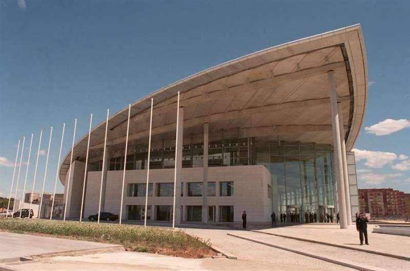 Imagen exterior del Palacio de Congresos de Valencia. EFE/Archivo