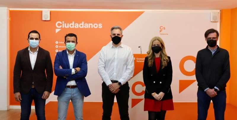 Ibáñez, Herrero, Gonzálex, Ortiz y Domenech
