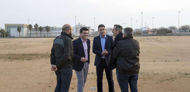 El presidente de la Diputación de València visita Almussafes.