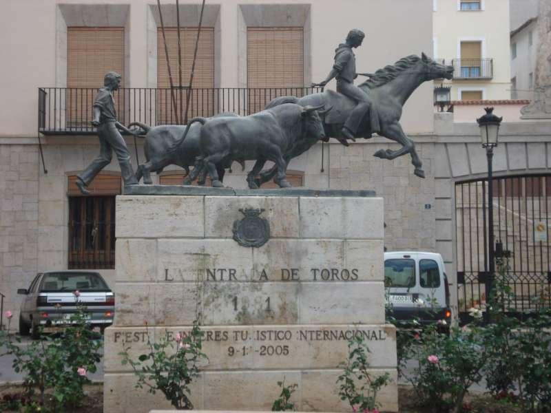 Monumentos a la entrada de toros en Segorbe