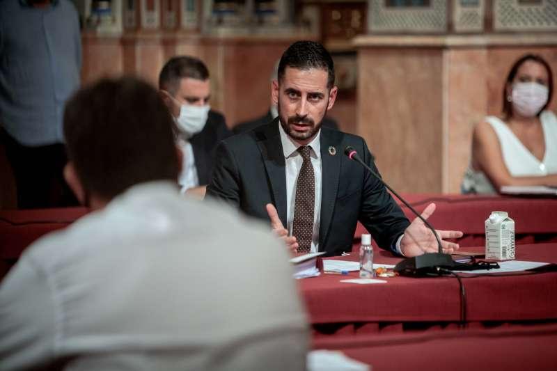 Responsable de Cooperación Municipal, Carlos Fernández Bielsa. / EPDA