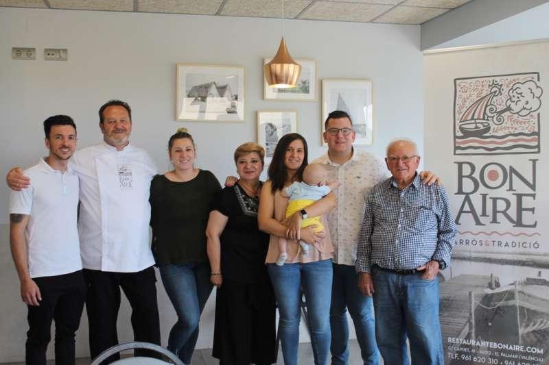 Las tres generaciones del restaurante Bon Aire