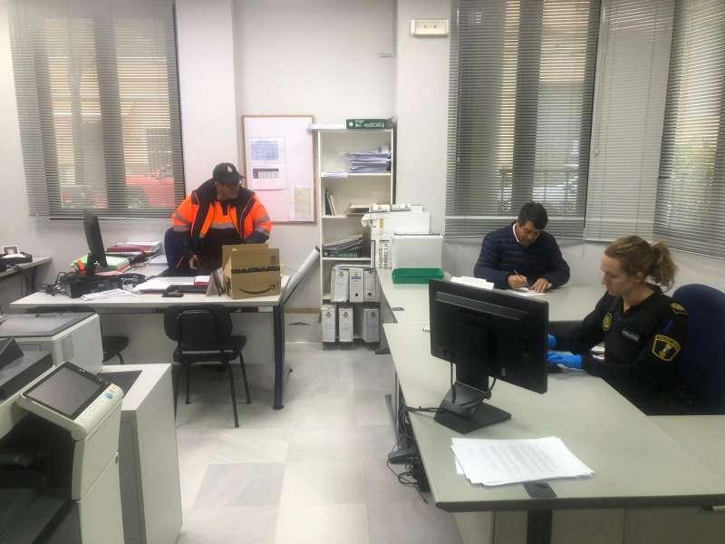 Dependencias del Ayuntamiento de Olocau. / EPDA