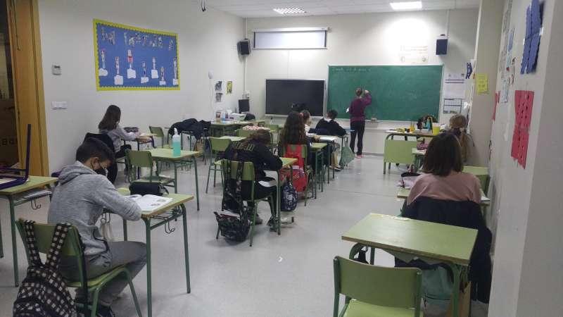Una de las aulas de la iniciativa. EPDA