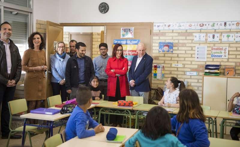 Amigó y Marzà visitan en Massamagrell.