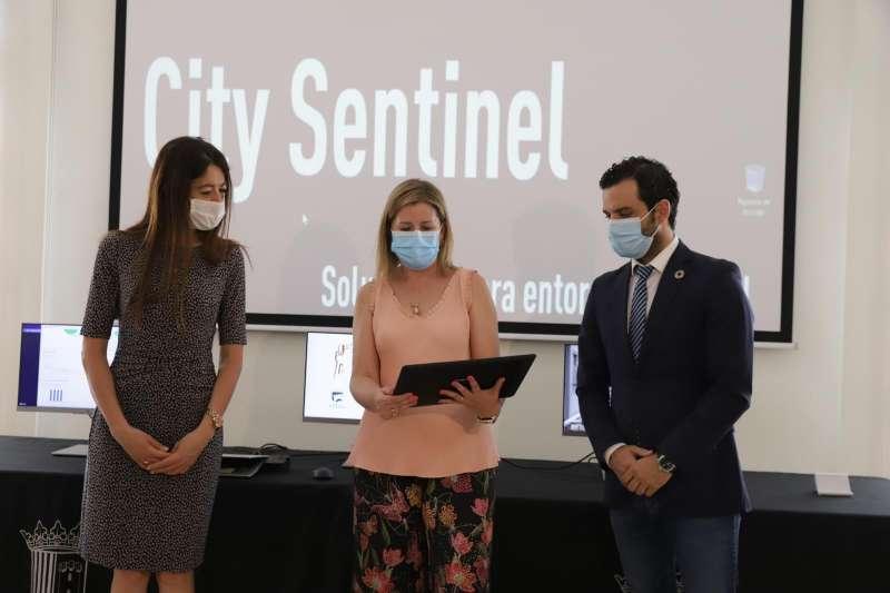 Presentación de City Sentinel junio 2020. EPDA