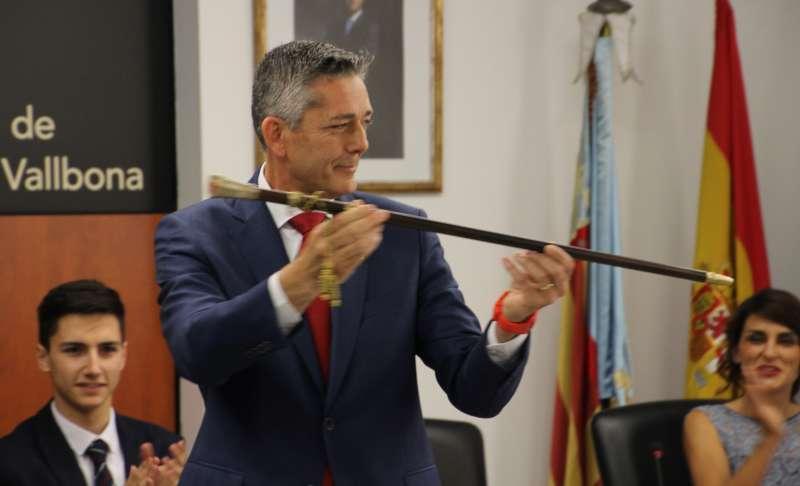 Alcalde de la Pobla de Vallbona. / epda