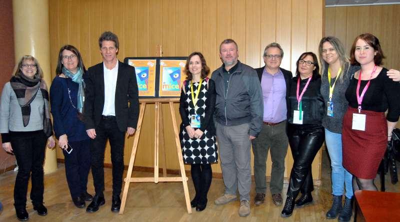 El director de esta escuela checa, Tariq Hager, estuvo presente en el acto junto al alcalde de Sagunto y el concejal de Cultura y Educación.