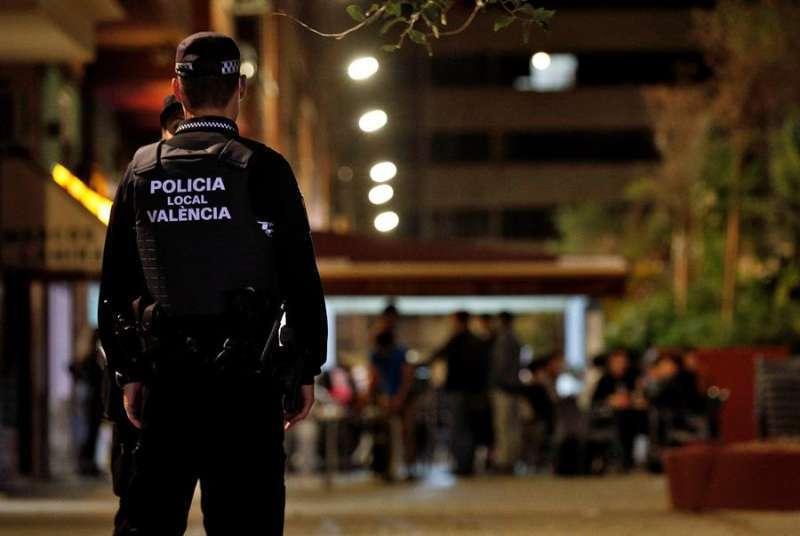Policía Local en Valencia. EPDA