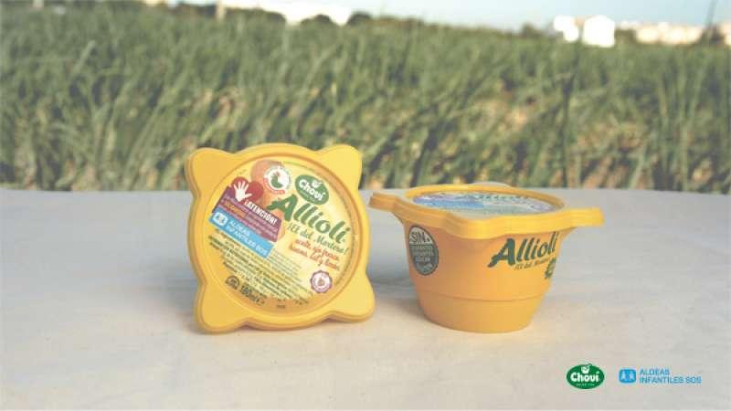 Uno de los ingredientes, allioli Cholvi. EPDA