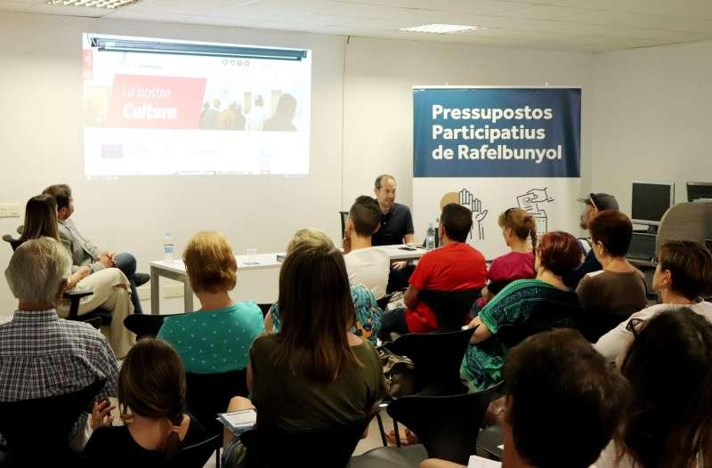 Presentación de los Presupuestos Participativos de Rafelbunyol. EPDA