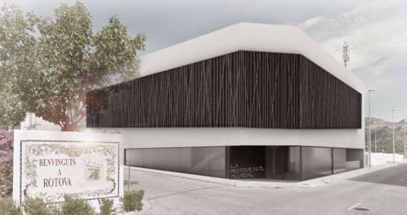 Futura Casa de la Música de Rótova.