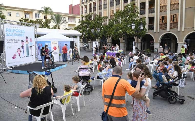 Actividad celebrada en la Semana de la Salud de Paiporta.