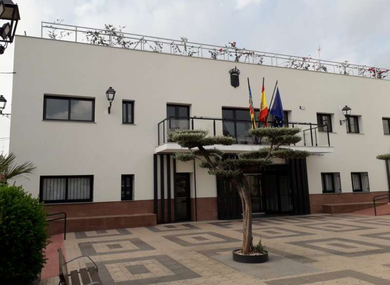 Casa consistorial de Faura. EPDA