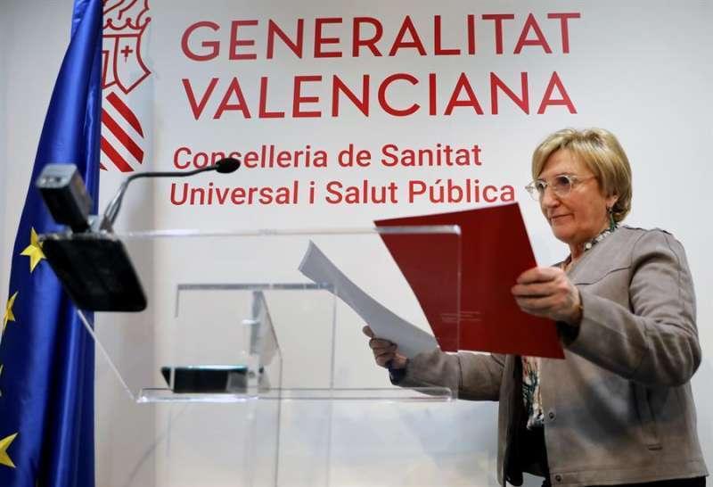 La consellera de Sanidad Universal y Salud Pública, Ana Barceló. / EFE