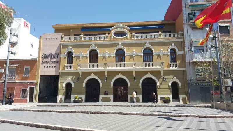 Gran Teatro Antonio Ferrandis. EPDA
