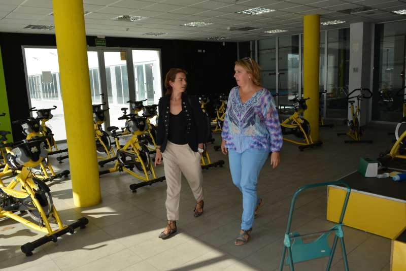 La Alcaldesa visita las instalaciones