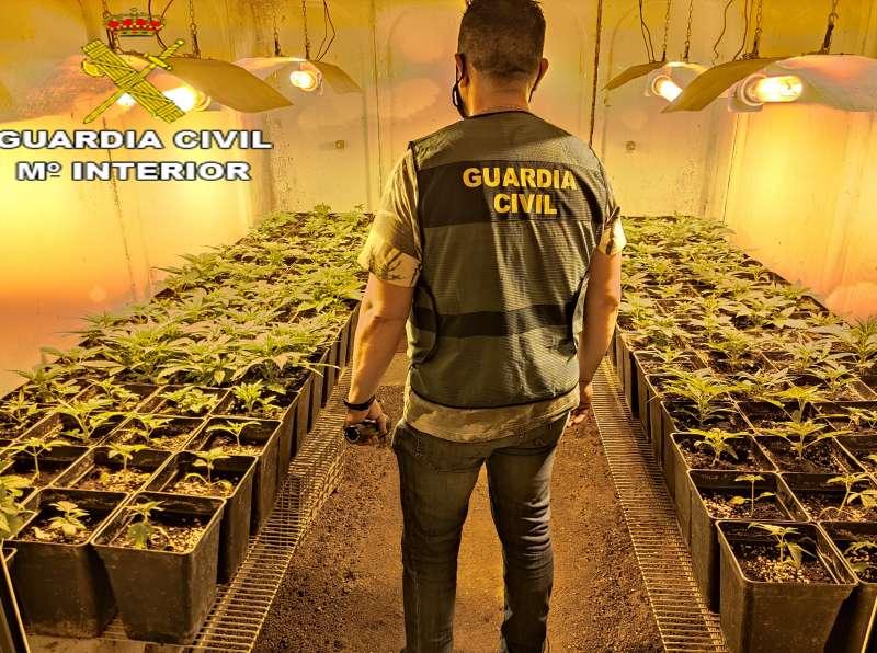 Imagen de archivo de la Guardia Civil.EPDA