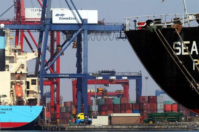 Imagen de archivo del Puerto de Valencia.