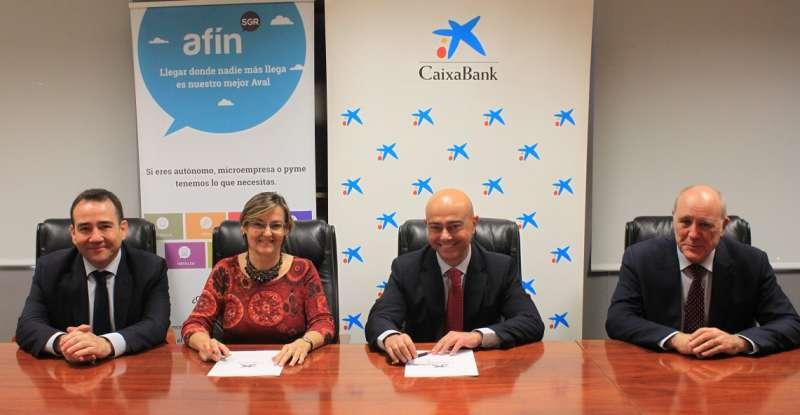 CaixaBank y Afín SGR renuevan el convenio para la financiación de pymes y autónomos de la Comunitat Valenciana