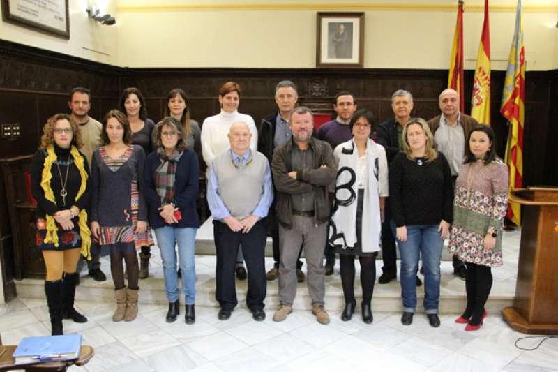 Miembros del Consejo Rector del Pacto Territorial de Empleo del Camp de Morvedre. EPDA