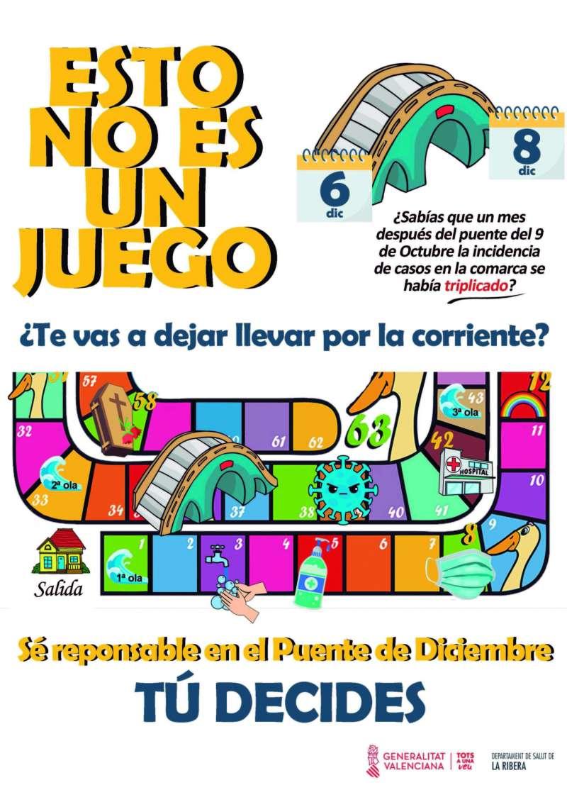 Cartel campaña Hospital de la Ribera./EPDA
