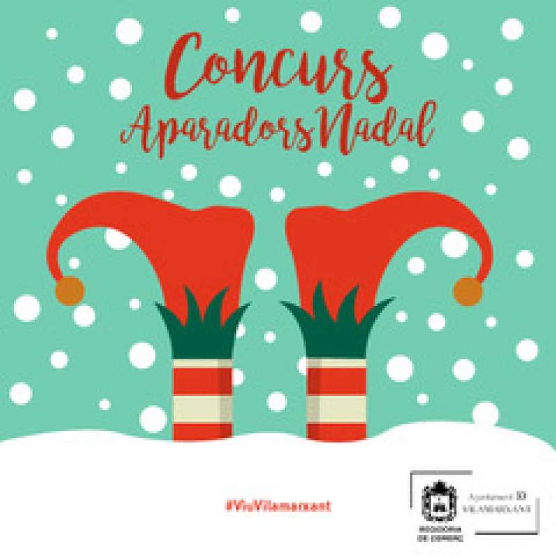 Cartel Concurs Aparadors Nadal