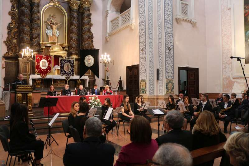 La iglesia del seminario acogió el Pregón