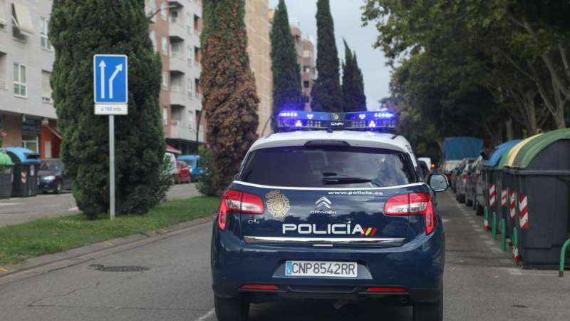 Coche de Policía Nacional. Foto de archivo/EPDA
