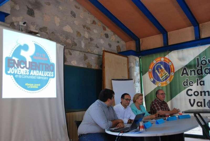 Instante del III Encuentro FECACV en el que ha participado Nofuentes