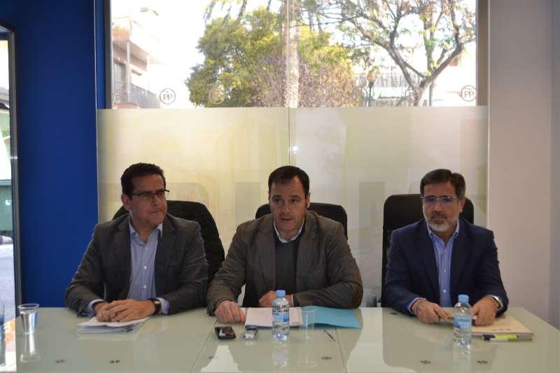 Jorge Bellver, Sergio Muniesa y Alfredo Castelló.