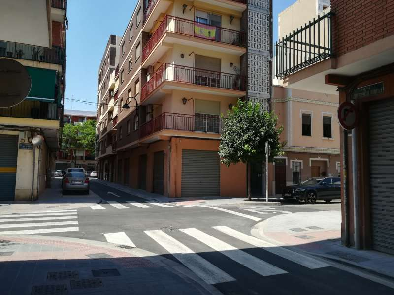 Quart de Poblet concluye una nueva fase de la reurbanización del barrio Río Turia. EPDA