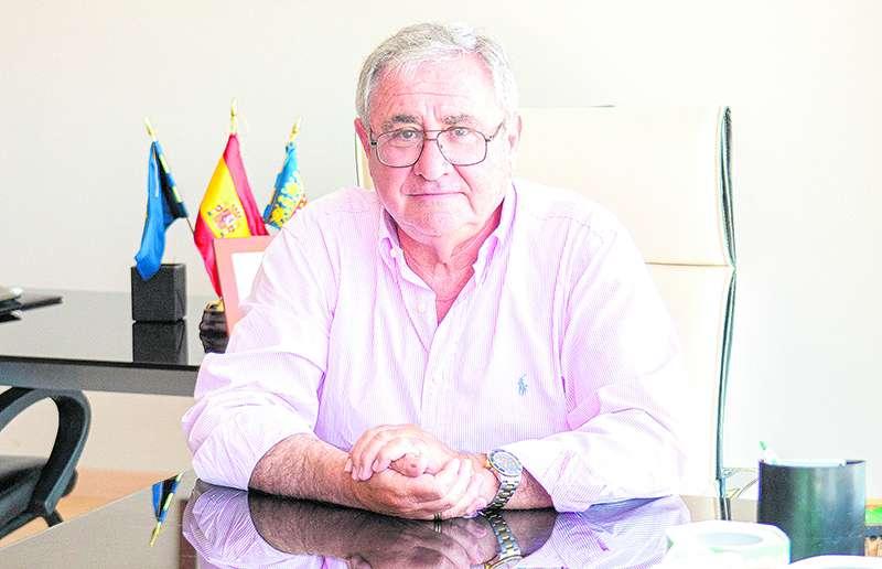 Daniel Matoses, en su despacho del CSIF. VICENTE RUPÉREZ