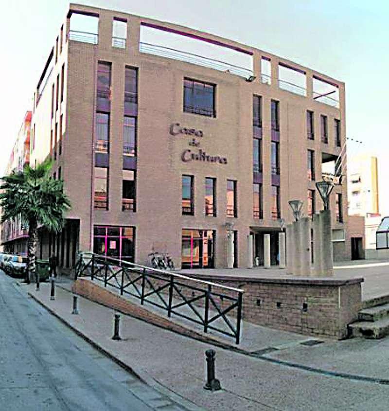 Casa de Cultura donde se ubica la cafetería. / epda
