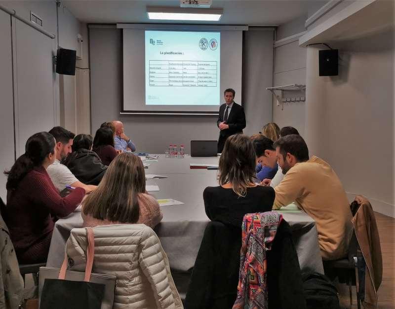 Foto del taller de Ateneo Emprendedores