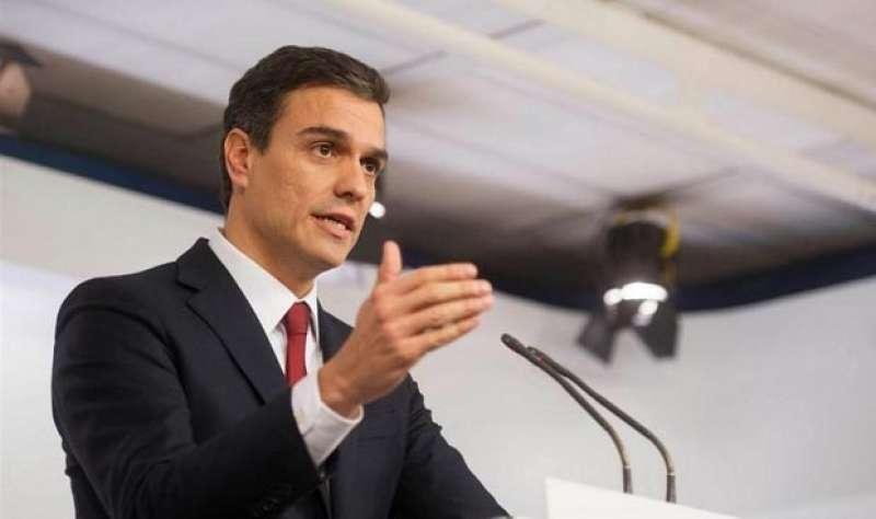 Pedro Sánchez. EFE/Archivo