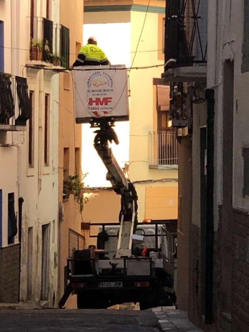 Las calles Intramuros tendrán iluminación navideña. Foto: MC.Calpe