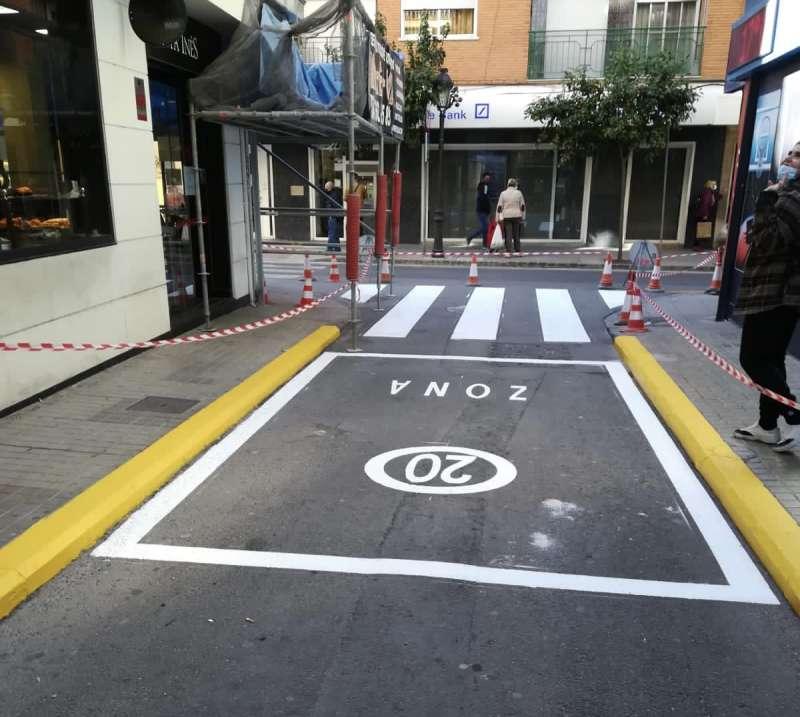 Calle de las Eras en Paterna - Zona 20. epda