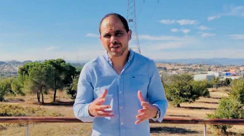 El portavoz y concejal de Ciudadanos (Cs) de Paterna, Jorge Ibáñez.