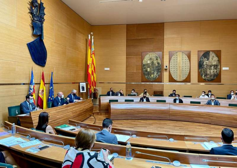 Pleno de la Diputació